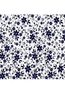Papel De Parede Adesivos Flores Roxas (0,58M X 2,50M)