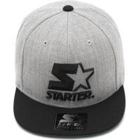 Boné Starter Snapback 3D Star Cinza b69745e8fe9