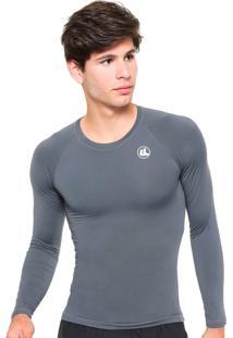 Camisa Esporte Legal Térmica El Fator Uv Manga Longa Poliamida