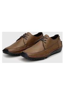 Sapato Em Couro Hayabusa Duna 80 Tan
