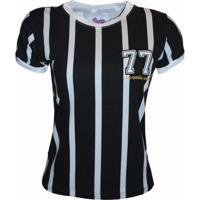 Camisa Liga Retrô Listrada 77 - Feminino 90a7679848254