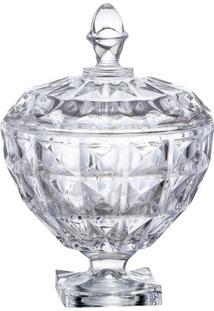 Bomboniere Aquamarine- Cristal- 17,7Xø17,5Cm- Fufull Fit