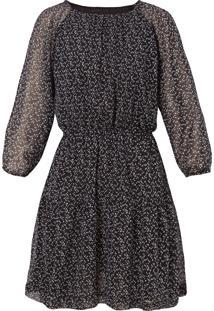 Vestido Leeloo Gotas - Preto