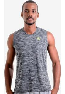 Regata Esporte Legal Uv45 Machão Rajada Plank Masculina - Masculino