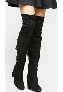 Bota Shoestock Over The Knee Maxi - Feminino