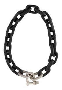 Parts Of Four Choker Com Pingente - Preto