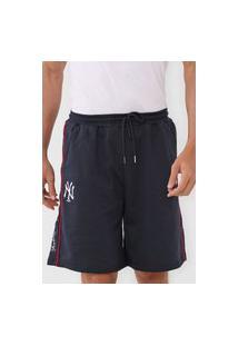 Bermuda New Era Reta New York Yankees Azul-Marinho