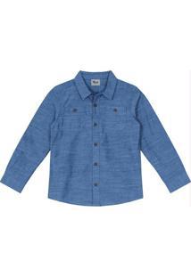 Camisa Infantil Trick Nick Cinza