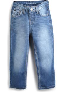 Calça Jeans Calvin Klein Kids Menino Azul
