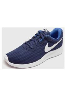 Tênis Nike Sportswear Wmns Tanjun Br Azul-Marinho