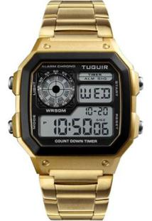 Relógio Romaplac Tuguir Digital - Unissex-Dourado