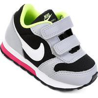 fd052492b Tênis Infantil Nike Mid Runner 2 - Masculino-Preto+Gelo