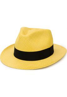 Dolce & Gabbana Chapéu Com Fita De Gorgorão - Amarelo