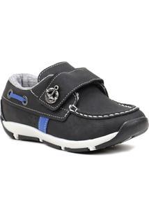 Sapato Infantil Para Bebê Menino Klin Preto - Masculino