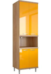 Paneleiro Melindra 4 Pt Amarelo