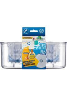 Porta Shampoo Transparente Plus