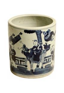 Vaso Decorativo De Porcelana Saavedra - Unissex