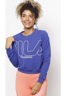 Blusão Fila® Training - Azul Escuro & Brancofila