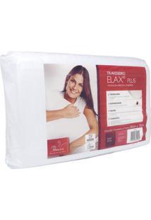 Travesseiro De Espuma Aditivada Elax Plus Fibrasca 4295