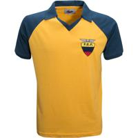 Camisa Liga Retrô Equador 1980´S - Masculino d6b320410849d