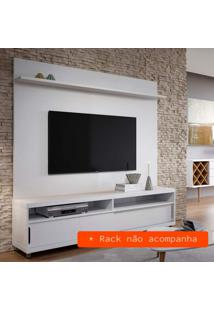 Painel Para Tv 60 Polegadas Feel Branco 180Cm