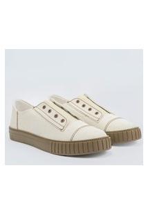Sneaker Feminino Off White Multicolorido