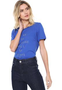 Camiseta Forum Universe Azul