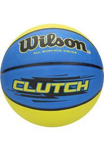 Bola Wilson Basquete Clutch 7 - Unissex
