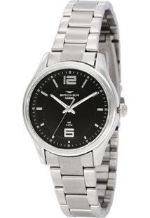 Relógio Feminino Backer Analógico 10272123F - Unissex-Prata