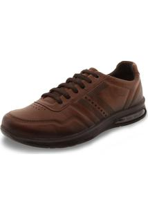 Sapato Masculino Bolha Pegada - 118701 Café 37