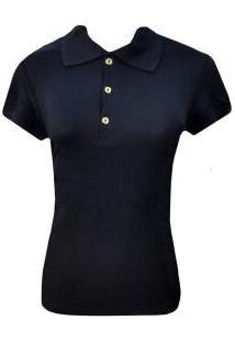 b478e40353f06 Camisa Polo Feminina Malwee (28544) Viscose