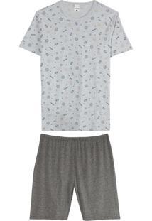 Pijama Mescla Esporte Masculino