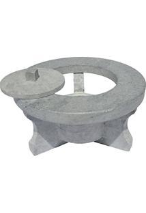 Rechaud Fogareiro Em Pedra Sabão 24 Cm