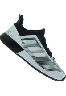 Tênis Adidas Defiant Bounce 2 - Feminino - Preto/Branco