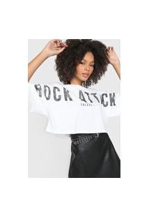Camiseta Colcci Rock Attack Branca