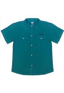 Camisa Look Jeans Bolsos Collor