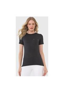 Camiseta Calvin Klein Bolso Preta