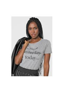 Camiseta Polo Wear In Love Cinza