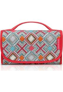 Necessaire Rocambole Jacki Design Nylon - Feminino-Pink