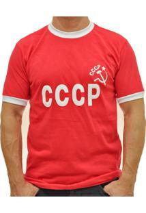 8086d514b1 Camisa Retrô Mania Cccp Anos 70 Masculina - Masculino