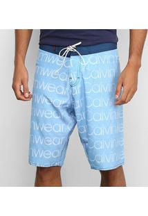 Bermuda Overbord Calvin Klein Swinwear Masculina - Masculino