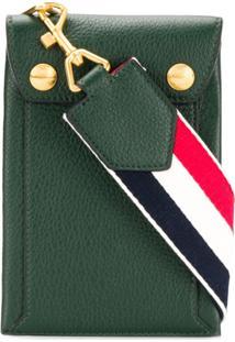 Thom Browne Porta Celular Com Estampa Airmail - Verde