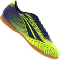 Centauro. Chuteira Futsal Penalty Storm Speed Vii In - Adulto - Verde Cla  Azul Esc 776afefff686c