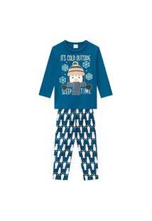 Pijama Infantil Menino Kyly Azul
