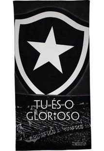 Toalha De Banho Bouton Veludo Botafogo