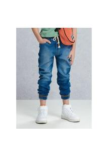 Calça Jogger Jeans Infantil Masculino