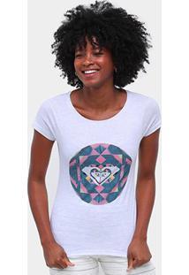 Camiseta Roxy Color Explosion Feminina - Feminino-Mescla