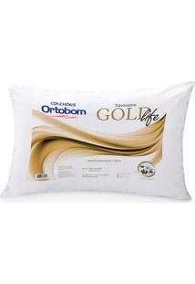 Travesseiro Gold Life - Ortobom - Branco