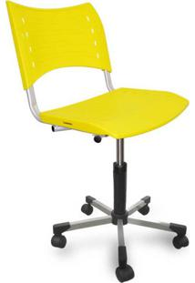 Cadeira De Escritório Secretária Stillus Amarelo