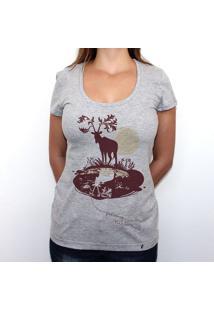 Deer - Camiseta Clássica Feminina